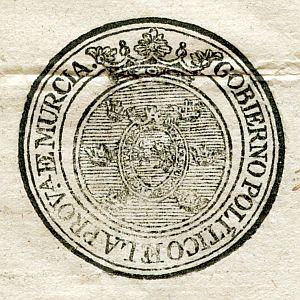 MURCIA - Gobierno político de la provincia de Murcia - Año 1823