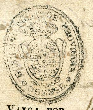 ORENSE - Gobierno político de la provincia de Orense - Año 1840