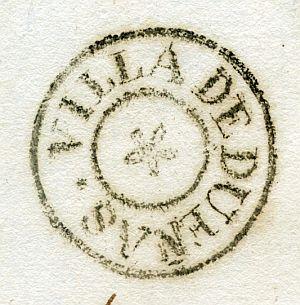 PALENCIA - Ayuntamiento de Dueñas - Año 1837