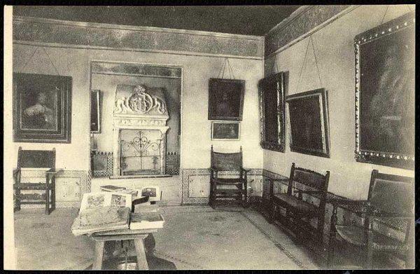 Sala de la Casa del Greco-Postal editada por Abelardo Linares hacia 1930_P-3601