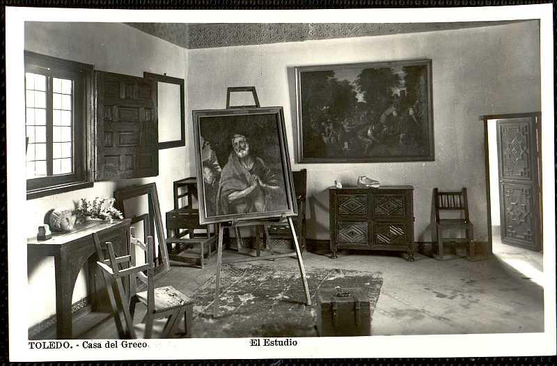 Resultado de imagen de casa del greco estudio