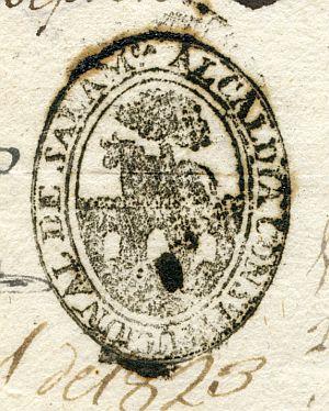 SALAMANCA - Alcaldía constitucional de Salamanca - Año 1823