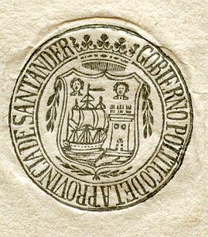 SANTANDER - Gobierno político de la provincia de Santander - Año 1822