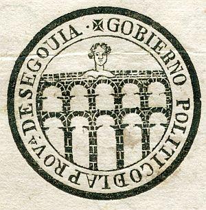 SEGOVIA - Gobierno político de la provincia de Segovia - Año 1822