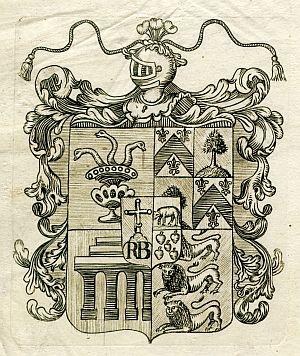 Sello de Gaspar de Rocabruna y Taberner, comandante general de la ciudad y provincia de Toledo - Año 1825