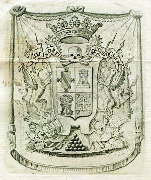 Sello de José María de Carvajal y Urrutia, capitán general del Ejército y Provincia de Castilla La Nueva - Año 1824