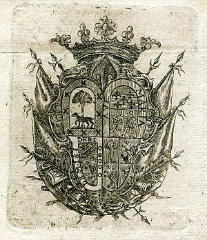 Sello de Miguel de Cabra, gobernador político y militar de Almería - Año 1825