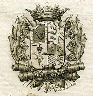 Sello de Ventura Caro y Fontes, capitán general del Ejército y Reino de Valencia - Año 1802
