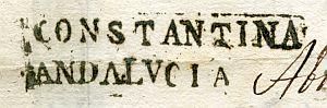 SEVILLA - Ayuntamiento de Constantina - Año 1841