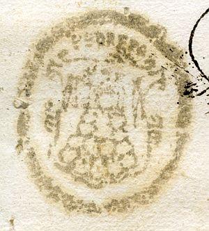 SEVILLA - Ayuntamiento de Pedrera - Año 1837