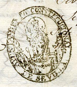 SEVILLA - Ayuntamiento de Sevilla - Año 1823