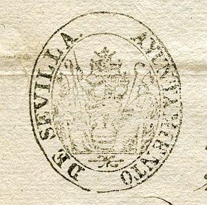 SEVILLA - Ayuntamiento de Sevilla - Año 1837