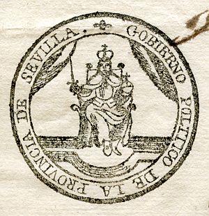 SEVILLA - Gobierno político de la provincia de Sevilla - Año 1823