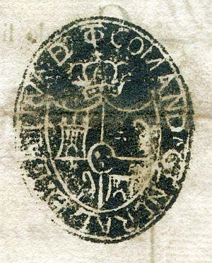 TOLEDO - Comandancia general de la provincia de Toledo - Año 1824