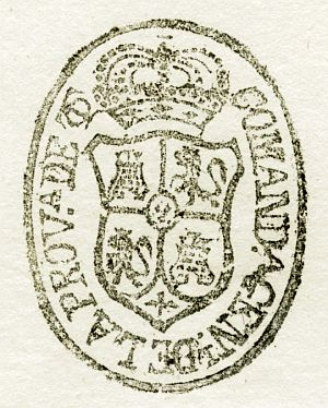 TOLEDO - Comandancia general de la provincia de Toledo - Año 1840