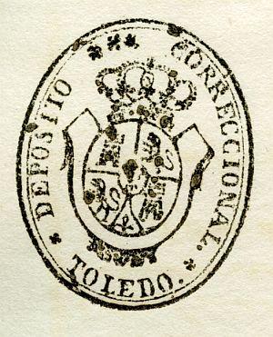 TOLEDO - Depósito correccional de Toledo - Año 1842