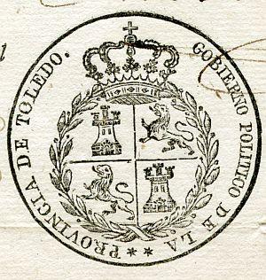 TOLEDO - Gobierno político de la provincia de Toledo - Año 1821