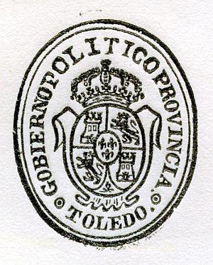 TOLEDO - Gobierno político de la provincia de Toledo - Año 1837