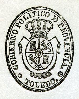 TOLEDO - Gobierno político de la provincia de Toledo - Año 1840