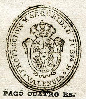 VALENCIA - Protección y seguridad pública de Valencia - Año 1837