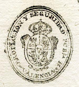 VALENCIA - Protección y seguridad pública de Valencia - Año 1838