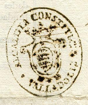 VALLADOLID - Alcaldía constitucional de Valladolid - Año 1837
