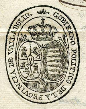 VALLADOLID - Gobierno político de la provincia de Valladolid - Año 1823