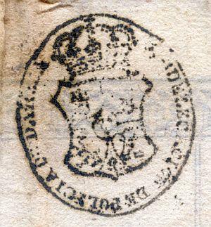 ZARAGOZA - Subdelegación de Policía de Daroca - Año 1841