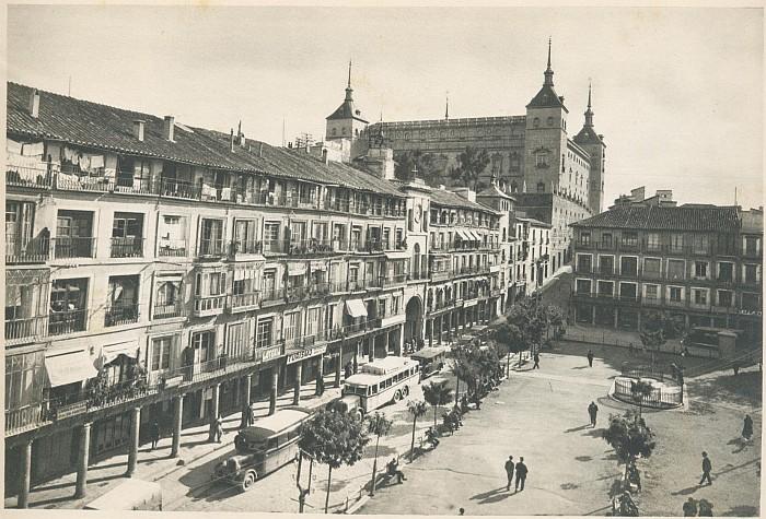 Resultado de imagen de Las Reformas de la Plaza de Zocodover