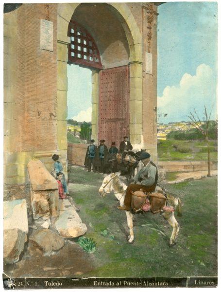 124 - Entrada al puente de Alcántara desde el paseo de la Rosa