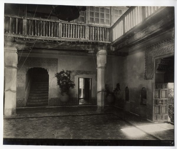 178 - Patio de la Casa del Greco