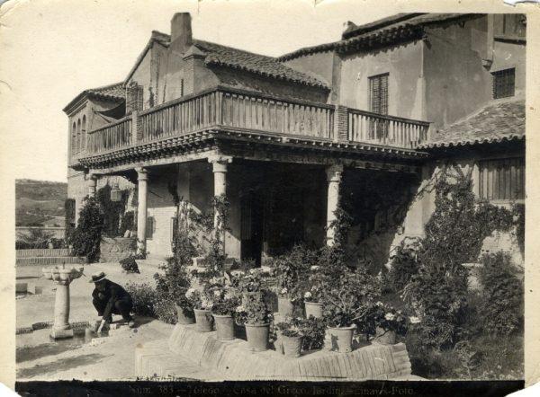 183 - Jardín de la Casa del Greco