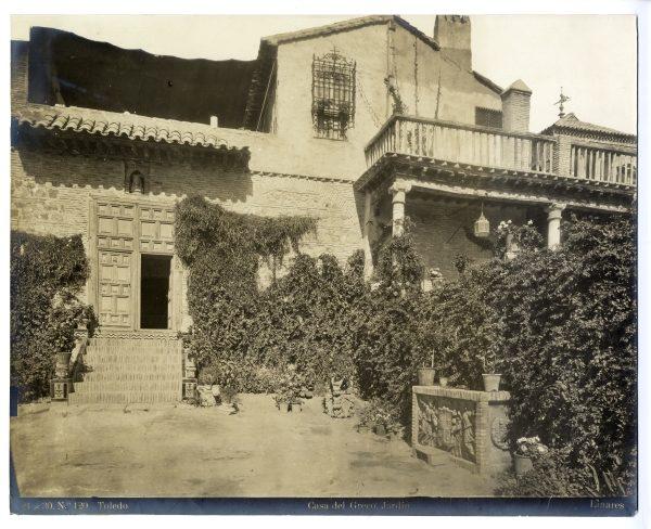187 - Jardín de la Casa del Greco