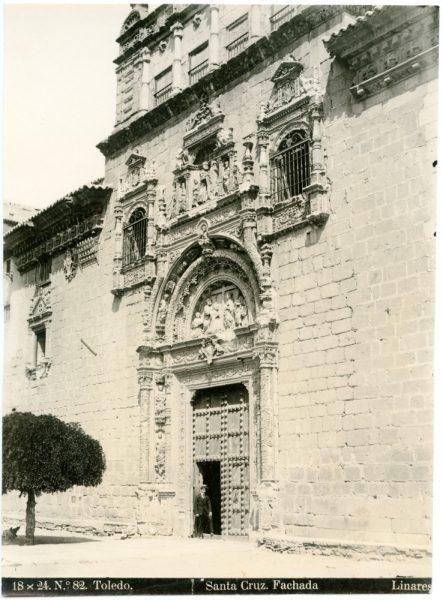 198 - Fachada del Hospital de Santa Cruz