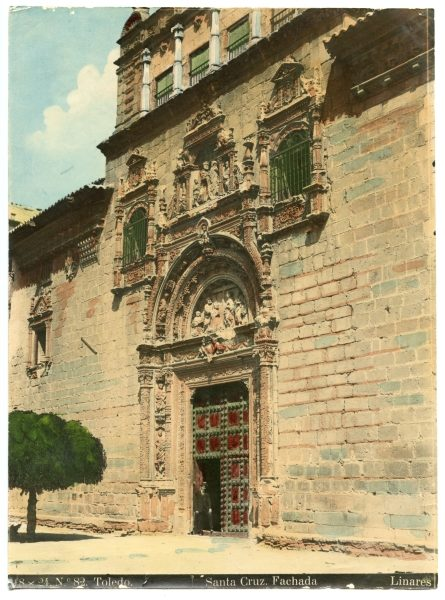 199 - Fachada del Hospital de Santa Cruz