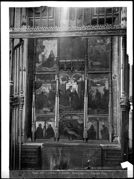 253 - Retablo de la capilla de la Concepción