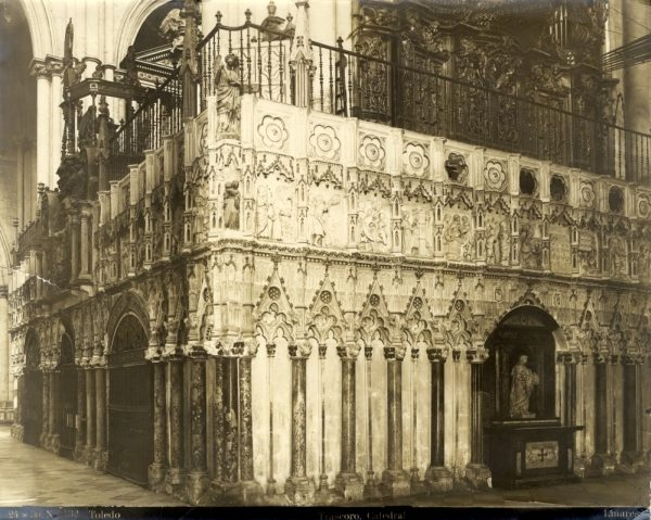 259 - Trascoro de la Catedral desde la nave de la Epístola