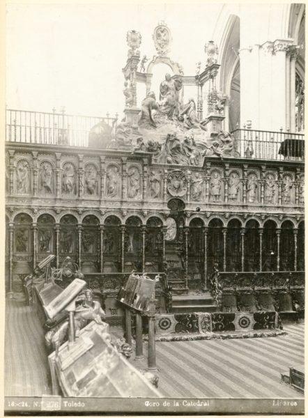 262 - Sillería baja del Coro de la Catedral