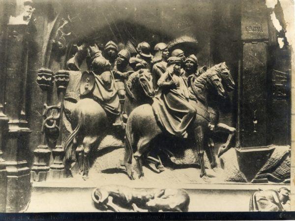 266 - Sillería baja del Coro - Escena de la ocupación de Castril