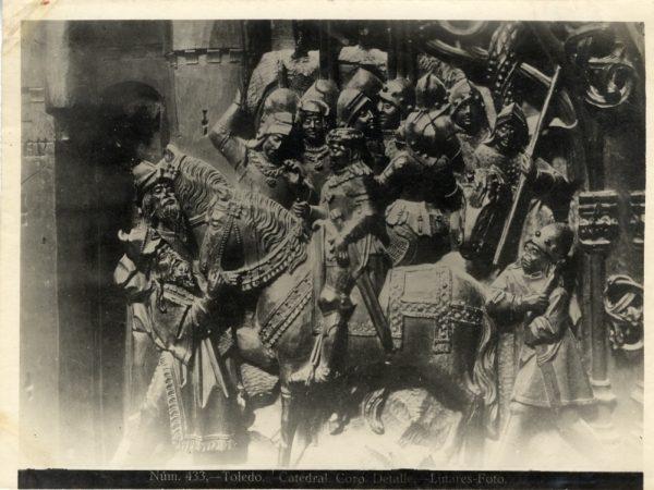269 - Sillería baja del Coro - Escena de la rendición de Níjar