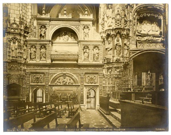 282 - Interior de la Capilla Mayor