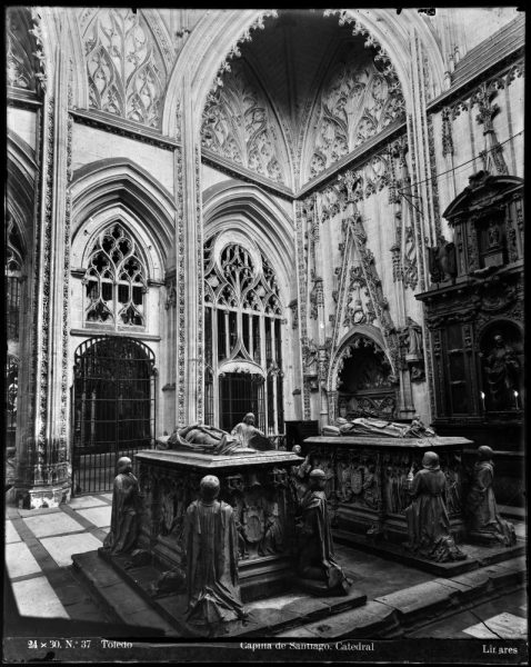285 - Interior de la Capilla de Santiago