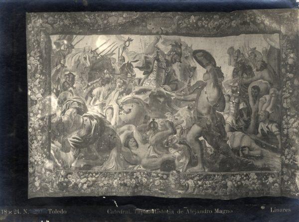 294 - Tapiz de la Historia de Alejandro Magno
