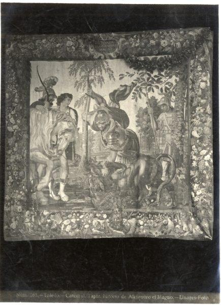 296 - Tapiz de la Historia de Alejandro Magno