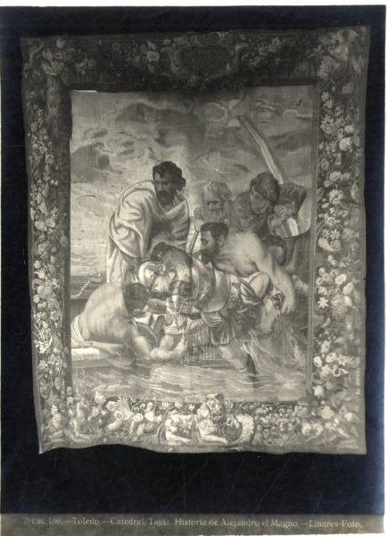 297 - Tapiz de la Historia de Alejandro Magno