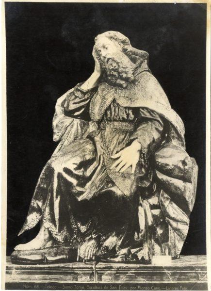 310 - Escultura de San Elías por Alonso Cano en la iglesia de Santo Tomé