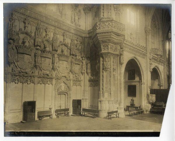 317 - Detalle del interior de la iglesia de San Juan de los Reyes