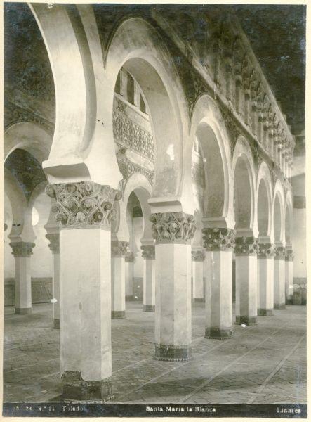 331 - Interior de la Sinagoga de Santa María la Blanca