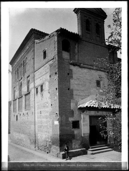 332 - Exterior de la Sinagoga del Tránsito