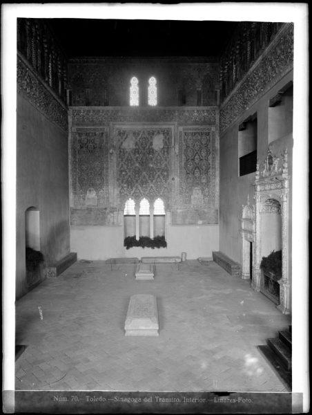 333 - Interior de la Sinagoga del Tránsito